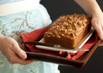 Honey Walnut Pumpkin Bread Recipe