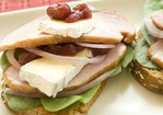 Open-Face Ham and Brie Sandwiches Recipe