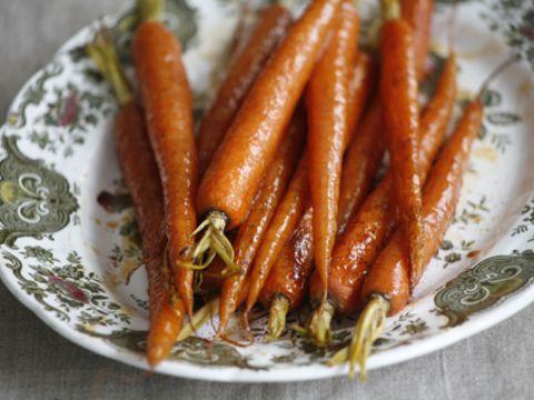 Quatre Epices Glazed Carrots Recipe — Dishmaps