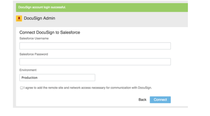 Interating Docusign with Salesforce