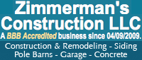 Zimmerman's Construction LLC