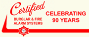 Certified Burglar & Fire Alarm Systems Inc.