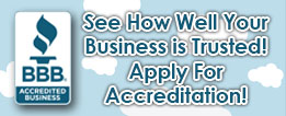 See How Well Your Business IS Trusted. Apply for Accreditation