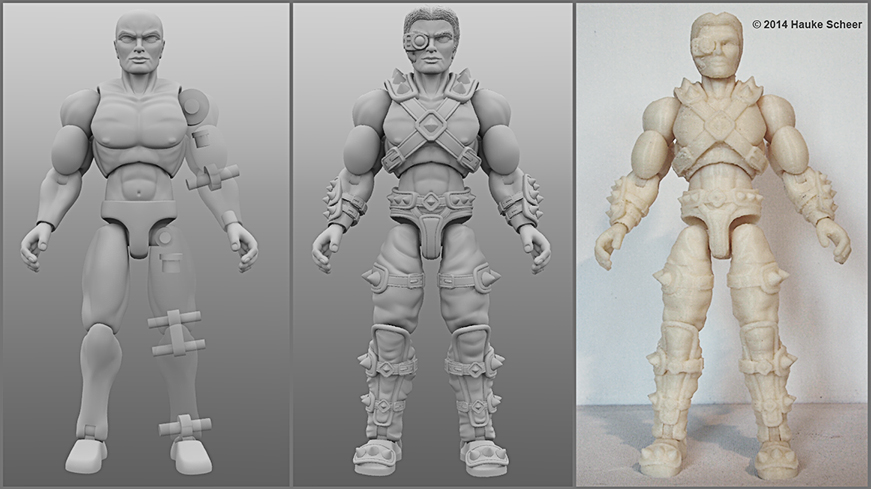 The Foundry Community Forums 3d Printed Action Figure