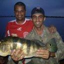 Foto de Tilápia - daniel e thide tucunare de 5 kg pescado na faz agropel paracatu mg