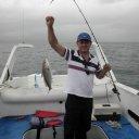 Pescaria de corvinas em Ilhabela