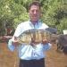 Tucunaré pescado dia 26 de novembro/05 em Pres. Epitácio - SP, isca Papa Black.