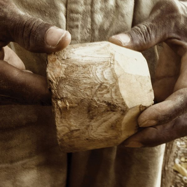 What sets the artisans a part is their medium: often working with raw materials like stone, wood, clay, or horn