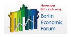 """Berlin Economic Forum 2014-24 """"Sustainable Economies, Sustainable Technologies, Sustainable Industries""""  logo"""