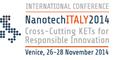 Nanotech Italy 2014 logo
