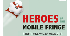 Heroes of the Mobile Fringe Festival logo