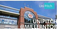 UniPitch - UniPitch@Millerntor logo