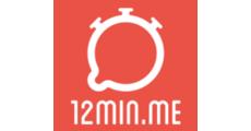 12min.me - der Startup Slam #3 logo