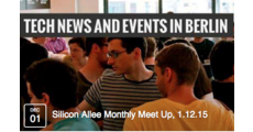 Silicon Allee Monthly Meet Up, 1.12.15 | Facebook logo