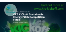 CEE KICkoff Sustainable Energy Pitch Competition Finals logo