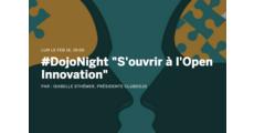 """#DojoNight """"S'ouvrir à l'Open Innovation"""" logo"""