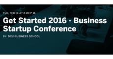 Get Started 2016 - Business Startup Conference logo