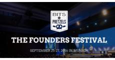 BITS & PRETZELS THE FOUNDERS FESTIVAL 2016 logo