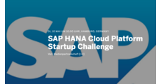 SAP HANA Cloud Platform Startup Challenge logo