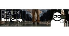 Advanced Elevator Pitch Boot Camp with Matt Boardman logo