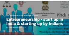 Entrepreneurship - start up in India & starting up by Indians logo
