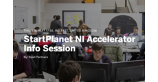 StartPlanet NI Accelerator Info Session logo