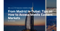 From Madrid to Dubai: Tips on How to Access Middle Eastern Markets logo