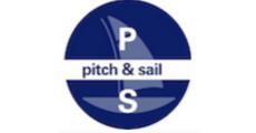 """Ticket Shop """" pitchandsail logo"""