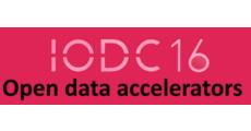 Open Data accelerators - IODC2016 logo