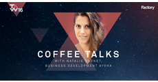 Coffee Talks with Natalie Barnet, Business Development at AYEKA logo