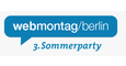 Webmontag Summer Party logo