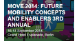 MOVE 2014: FUTURE MOBILITY CONCEPTS AND ENABLERS 3RD ANNUAL logo