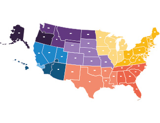 Foursquare District Map