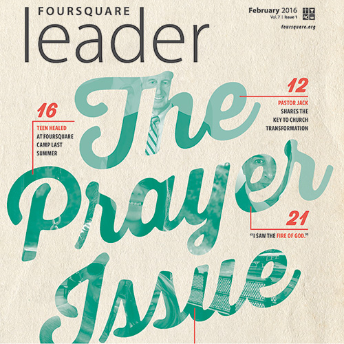 Foursquare Leader Feb. 2016 Issue