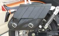 Dyna Low Rider Saddlebags on Bo Sabrowsky's 2007 Dyna Low Rider