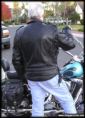 Leather motorcycle jackets available at Fox Creek Leather!