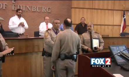 Hidalgo Sheriff's Deputies Receive Special Recognition