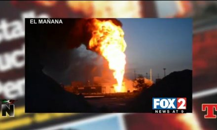 PEMEX Gasoline Pipeline Explosion In Reynosa, Tamaulipas, Mexico