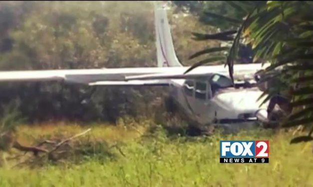 FAA investigates Plane Crash which Injured Two