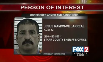 Person of Interest Named in Rio Grande City Shooting