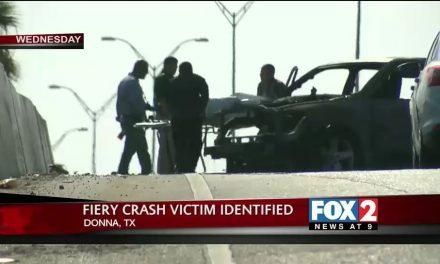 Donna Fiery Crash Victim Identified
