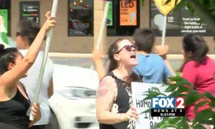 Anti-Transgender Bathroom Directive Sparks Protest outside Gov. Abbott's McAllen Book Signing