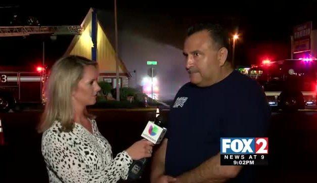 FIRST ON FOX: Flames Rip through McAllen IHOP