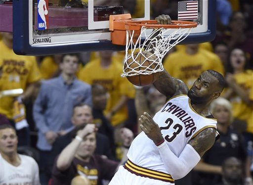 LeBron, Love power Cavaliers to 116-78 romp over Raptors