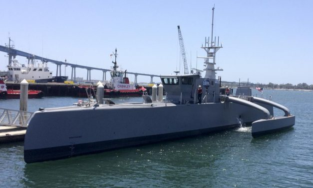What's the next big thing? Unmanned Ships of Course!