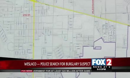 Weslaco Police Searching for Suspect after Several Car Burglaries