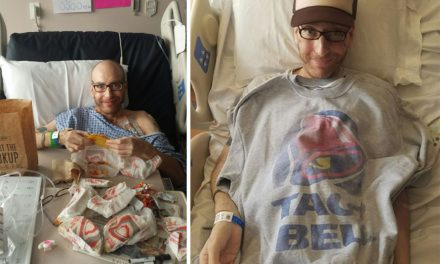 A Guy Woke Up from a Coma and Immediately Asked for Taco Bell