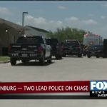 A Couple Leads Police On A Chase in Edinburg
