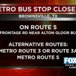 Brownsville Metro Stop Temporarily Closed