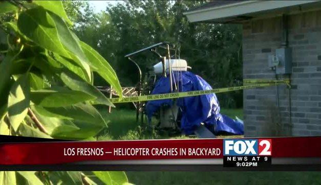 Crop Duster Crashes in Backyard near Los Fresnos